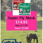 super fly mask sign