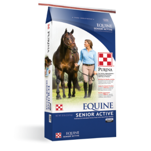 Purina Equine Senior Active Horse Feed