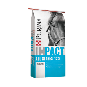 Impact All Stages 12% Pelleted Horse Feed