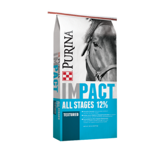 Purina® Impact® All Stages 12% Textured Horse Feed