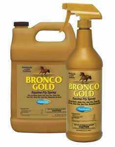 bronco gold fly repellent spray